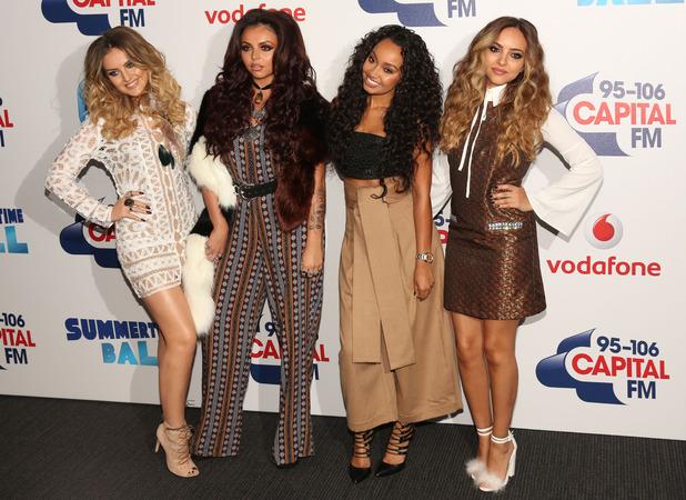 Little Mix attend Capital FM Summertime Ball, 6 June 2015