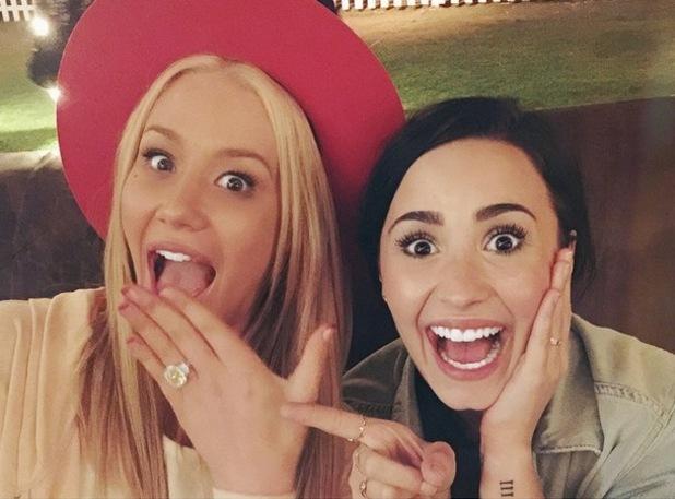 Demi Lovato congratulates Iggy Azalea, Instagram 2 June