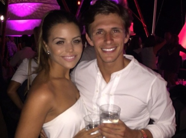 Jake Hall and Chloe Lewis in Marbella 5 June