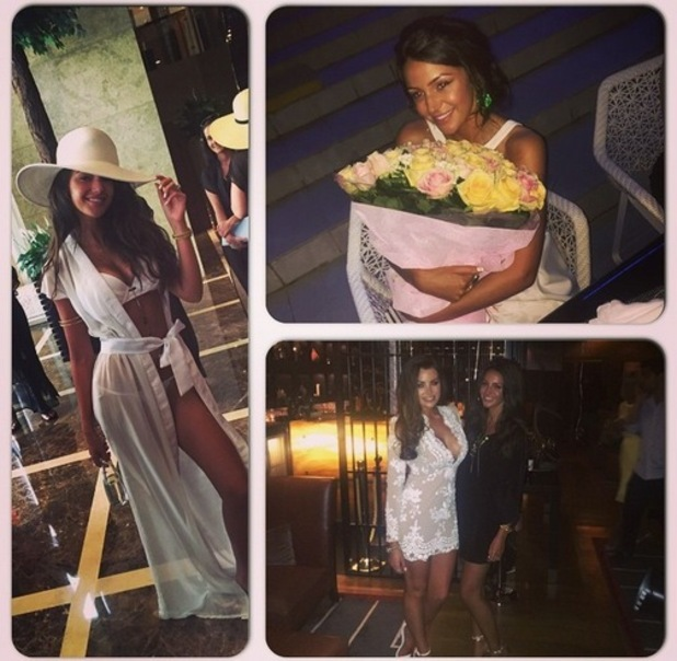Jess Wright shares collage to wish Michelle Keegan happy birthday, Instagram 2 June