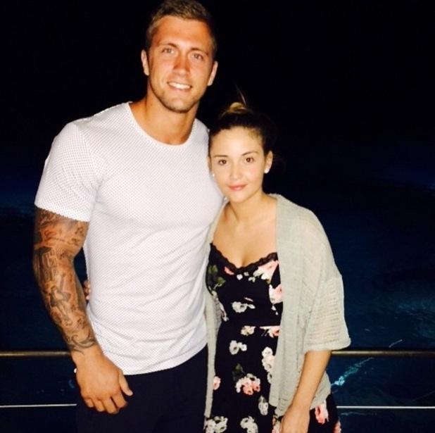 Dan Osborne and Jacqueline Jossa on holiday, Instagram 4 June