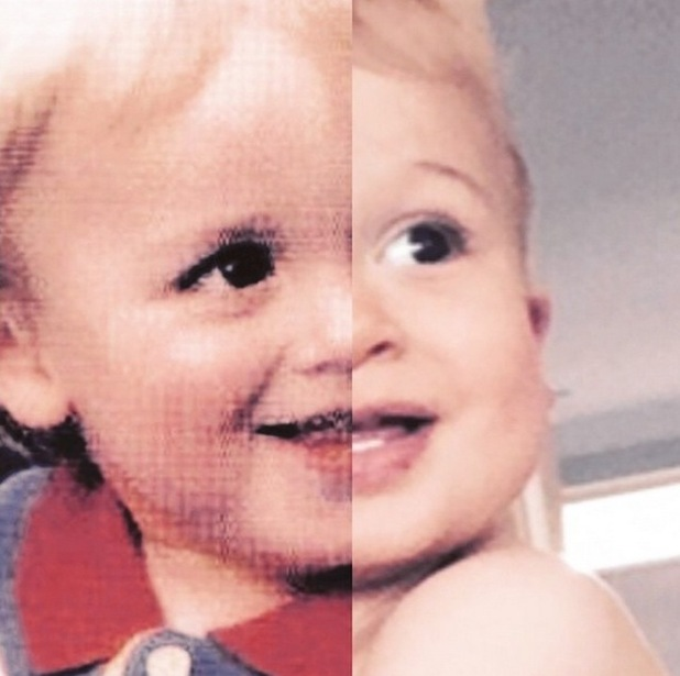 Tom Fletcher shares his similarity to son Buzz with a side by side comparison, 31st May 2015