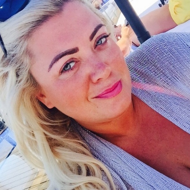 Gemma Collins reveals she's the happiest she's ever been whilst filming TOWIE in Marbs, 3rd June 2015