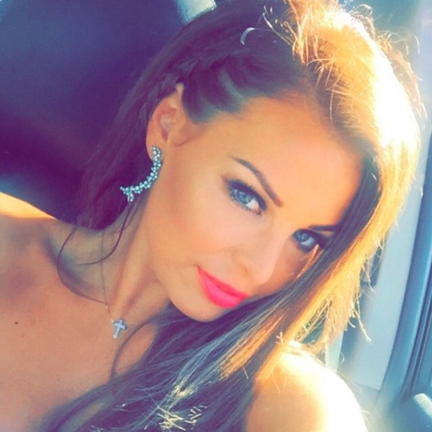Jessica Wright shares summer selfie from Marbs, 6 June 2015