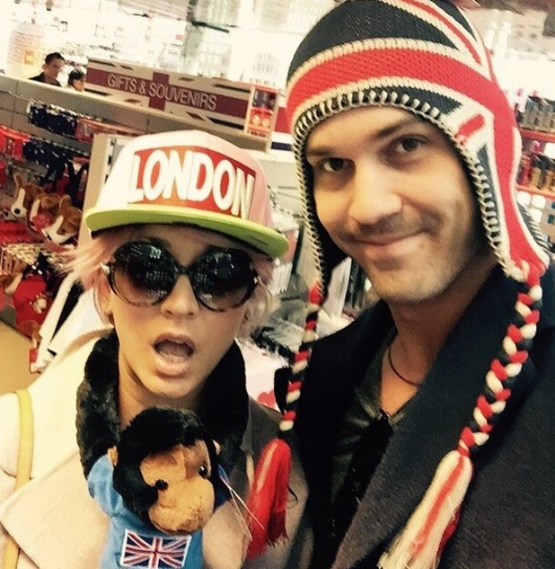 Kaley Cuoco & husband Ryan Sweeting embrace being a London tourist - 3 June 2015.