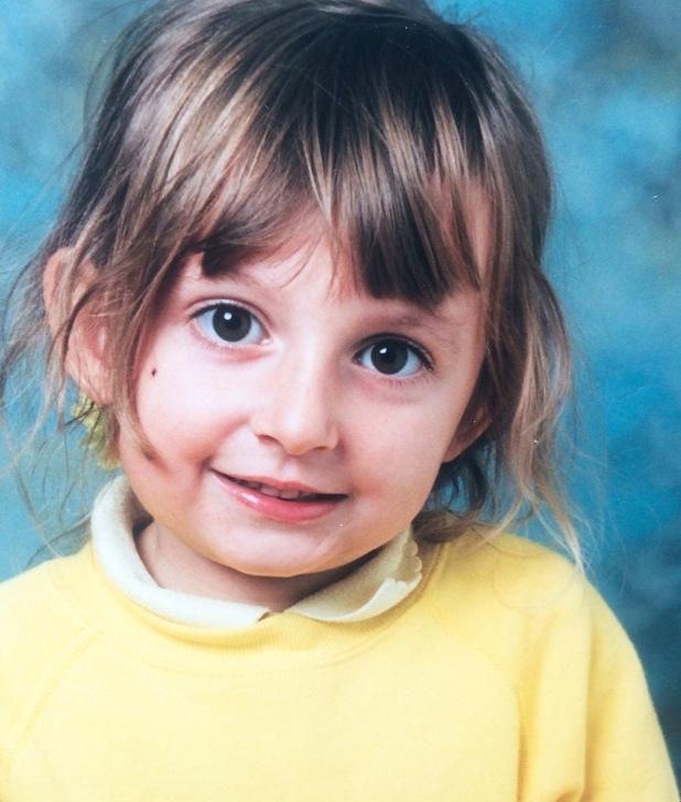 Yasmin Butler as a child
