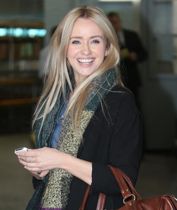 Sammy Winward outside the ITV studios in London - 4 June 2015.