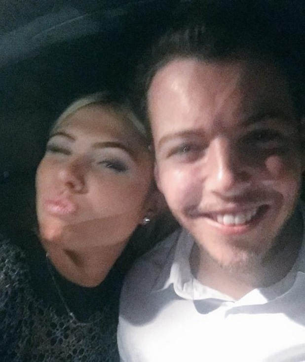 Fran Parman and James Diags Bennewith selfie, Twitter 3 June