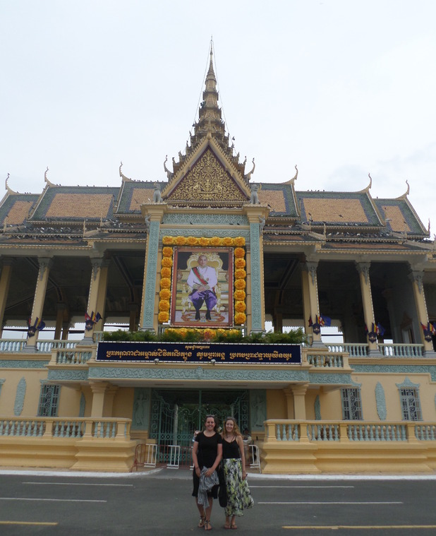 Royal Palace in Phnom Penh, 3/6/15