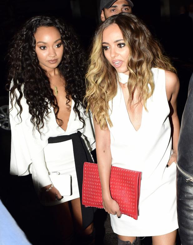 Little Mix's Jade Thirlwall and Leigh-Anne Pinnock at Mahiki nightclub, 6 June 2015