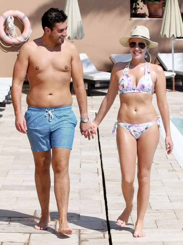 James 'Arg' Argent and Lydia Bright in Marbella, Spain - 02 Jun 2015.