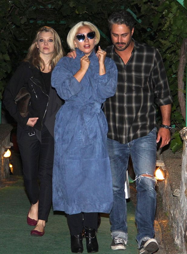 Lady Gaga and Taylor Kinney out and about, Belgrade, Serbia - 03 Jun 2015