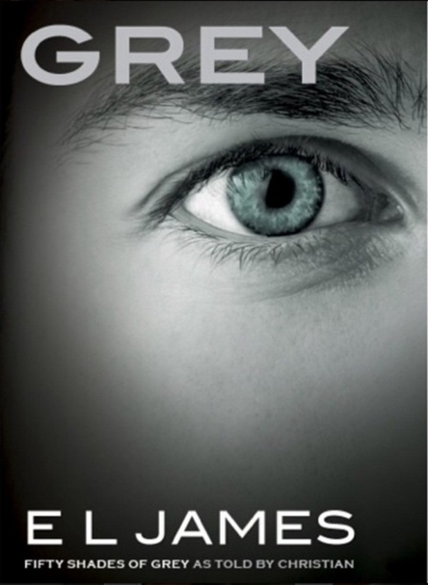 E L James unveils the cover of upcoming 50 Shades Of Grey novel 'Grey', 1st June 2015