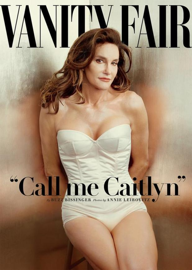 Bruce Jenner reveals new identity as Caitlyn Jenner on Vanity Fair cover - 1 June 2015.