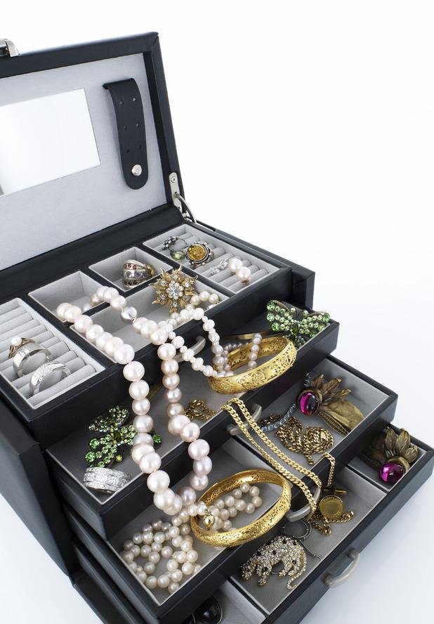 Jewellery box  - Bonhams auction house says Brits have £60m worth of jewellery lying around