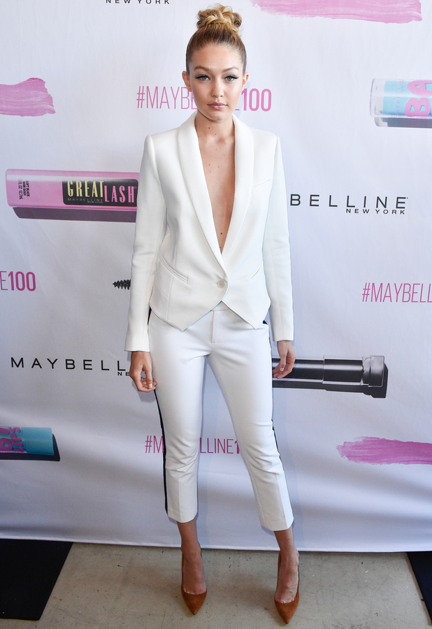 Gigi Hadid at the Maybelline New York party in New York, 4th June 2015