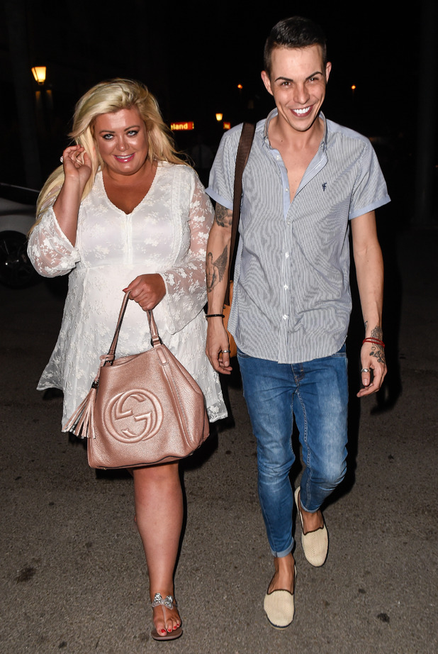 The Only Way Is Essex's Gemma Collins and Bobby Norris attend the Cavalli Club in Marbella on it's grand opening night - 31 May 2015.