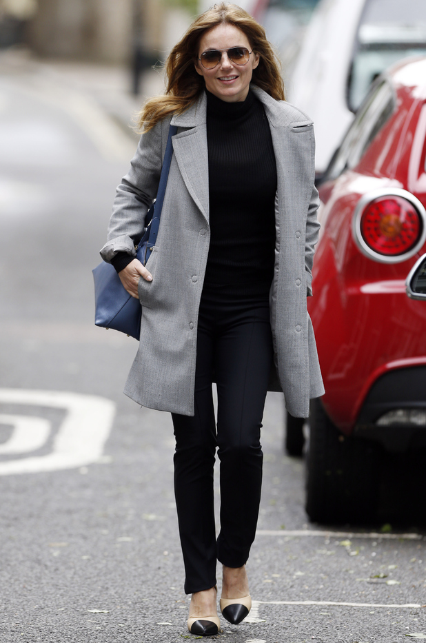 Geri Halliwell out in London 2 June