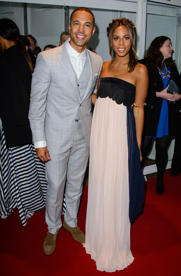 Rochelle Humes and Marvin Humes attend Glamour Awards, London 2 June