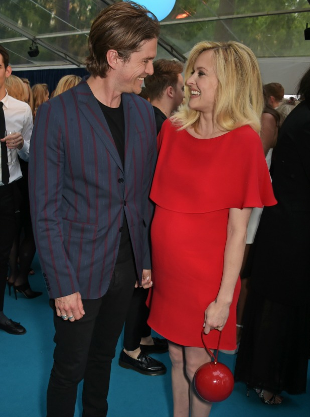 Jesse Wood (L) and Fearne Cotton attend the Glamour Women Of The Year awards at Berkeley Square Gardens on June 2, 2015 in London, England.