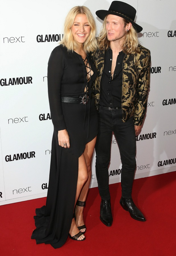 Ellie Goulding and Dougie Poynter, The Glamour Women of the Year Awards 2015 - Arrivals, 2 June