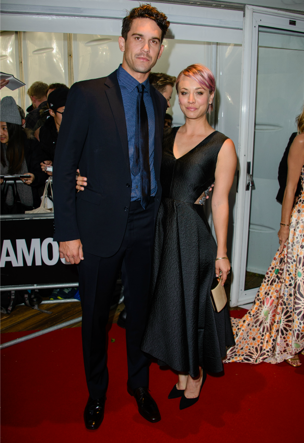 Kaley Cuoco and Ryan Sweeting, Glamour Women of the Year Awards, 2 June 2015