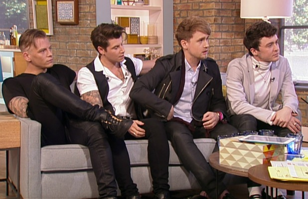 Rixton promote their new album 'Let the Road' on 'This Morning'. Broadcast on ITV1 HD