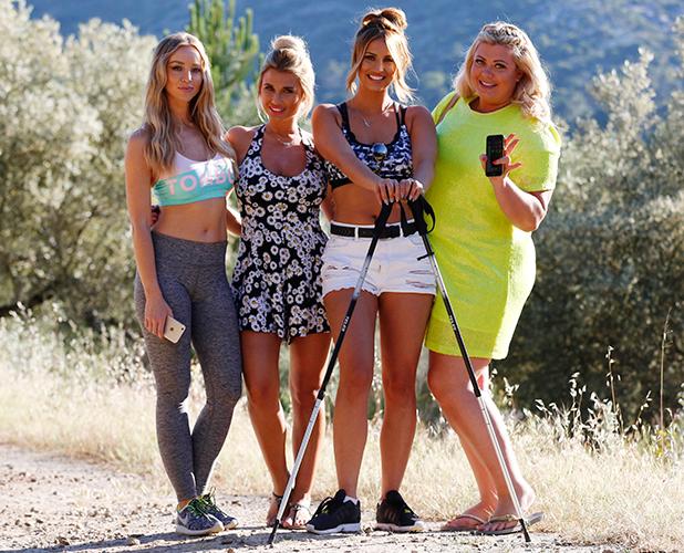 The Only Way Is Essex' in Marbella, Spain - 03 Jun 2015 Gemma Collins, Billie Faiers, Lauren Pope, Ferne McCann