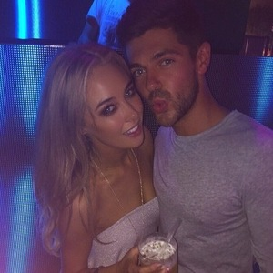 Alex Mytton and Nicola Hughes in Barcelona 7 June