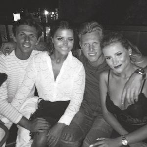 Jake Hall, Chloe Lewis, Georgia Kousoulou, Tommy Mallet in Marbella 5 June