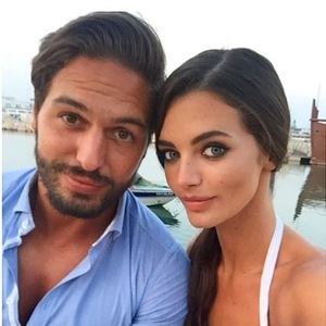 TOWIE's Mario Falcone and Emma McVey look blissfully happy in Portugal - 9 June  2015.