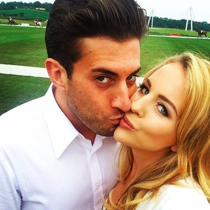 Lydia Bright launches new summer collection at the SIMEC Polo at the Manor at Celtic Manor Resorts in Wales, 13 June 2015