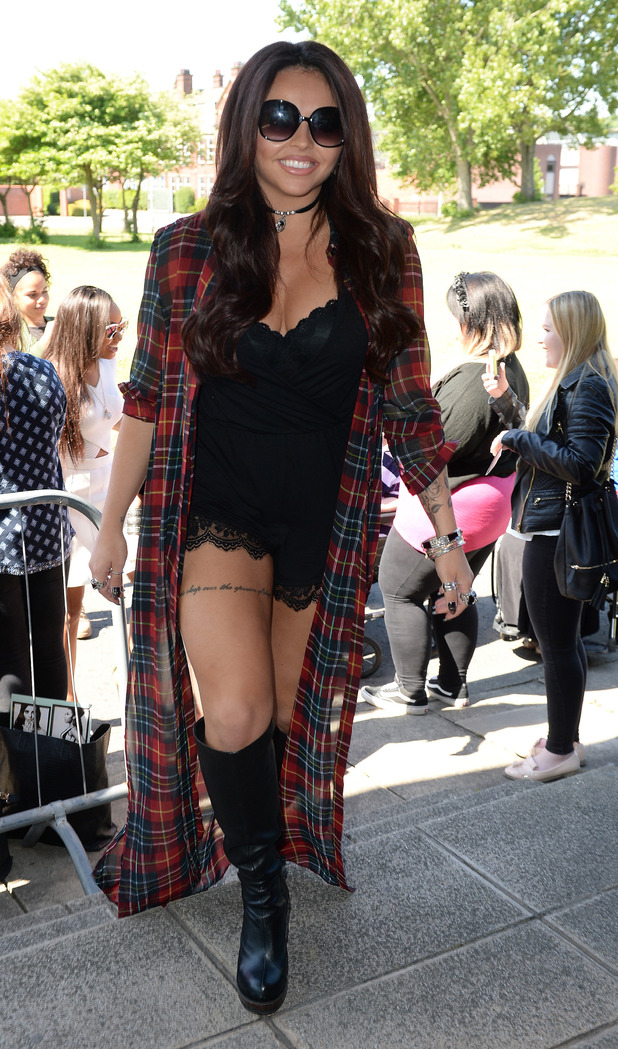 Jesy Nelson joins Little Mix for radio appearance in Leeds 11 June