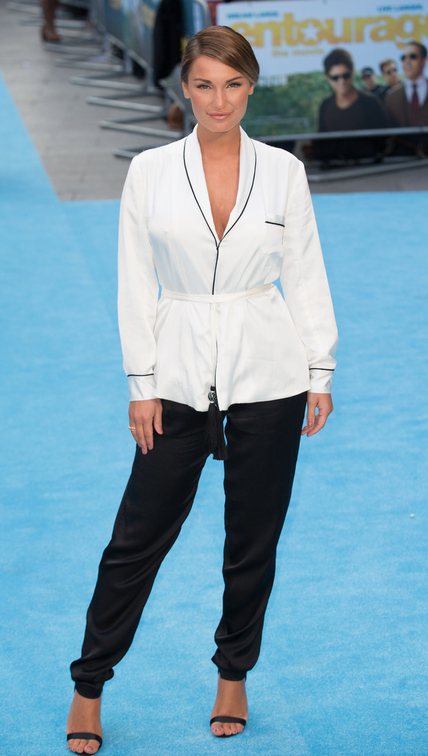 Sam Faiers attends the European Premiere of