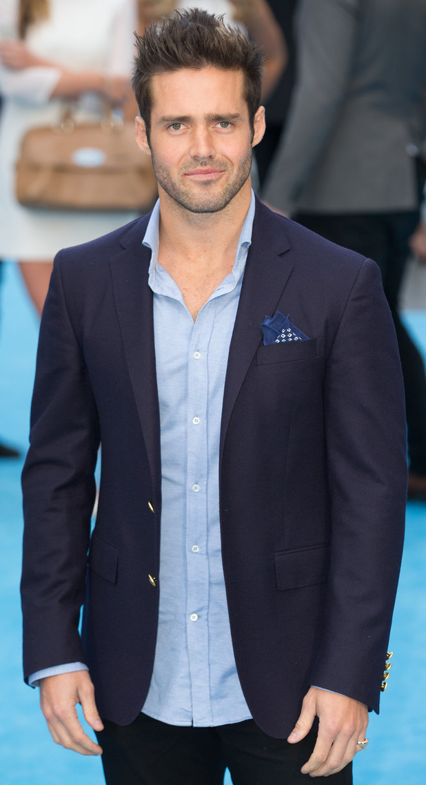 Spencer Matthews at The European Premiere of