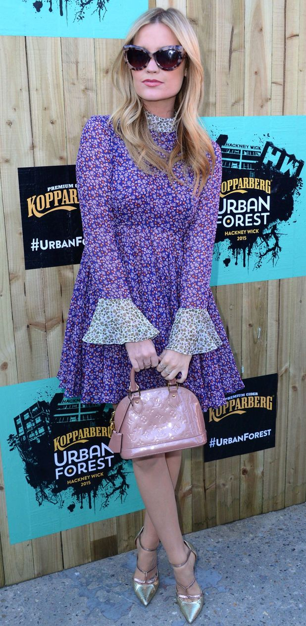 Laura Whitmore at the Kopparberg Urban Forest in London 11th June 2015