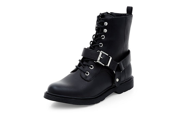 New Look biker boots with buckle £12, 8th June 2015