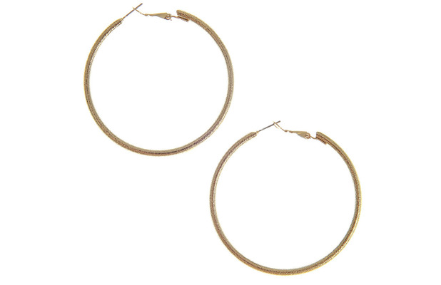 Claire's accessories Gold Hoop Earrings £4.50 11th June 2015