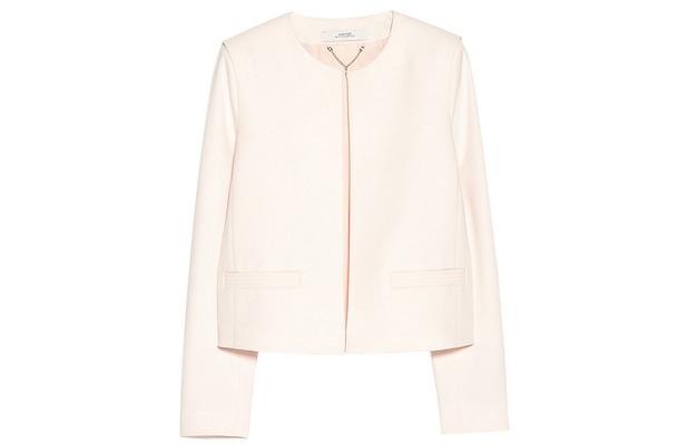 Mango cream blazer with shoulder pads £59.99 11th June 2015