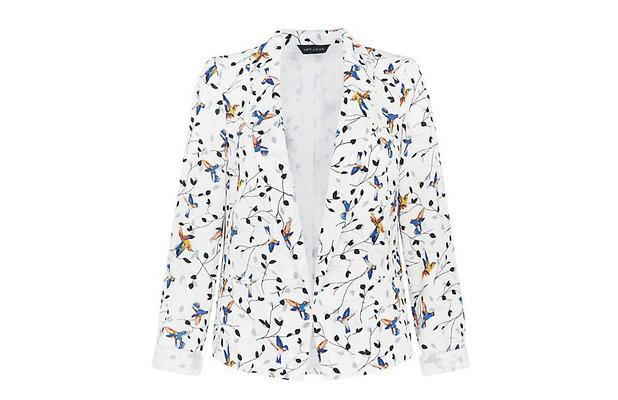New Look Bird Print Blazer £27.99 11th June 2015