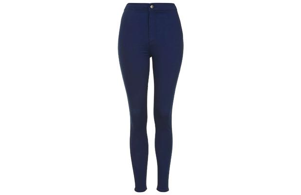 Topshop high waisted indigo Joni jeans £36, 9th June 2015