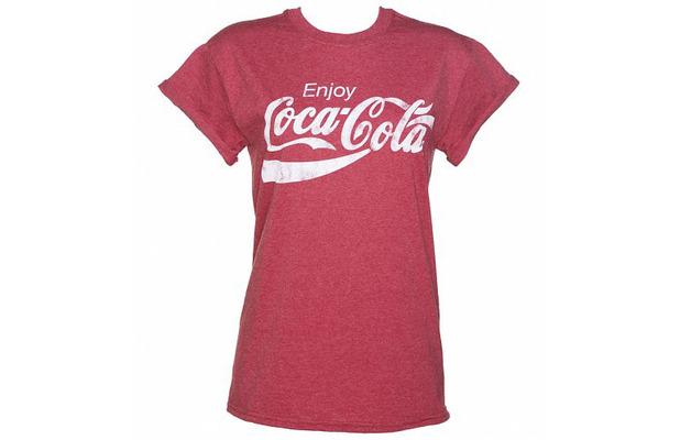 Truffle Shuffle ladies T-shirt, Cocoa-Cola logo £19.99 9th June 2015