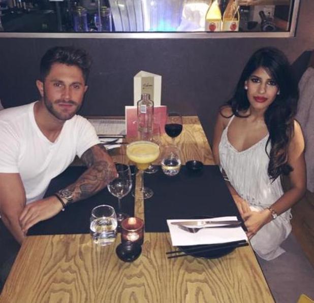 Jasmin Walia and her boyfriend Ross Worswick at Sakana Restaurant in Manchester - 11 June 2015.