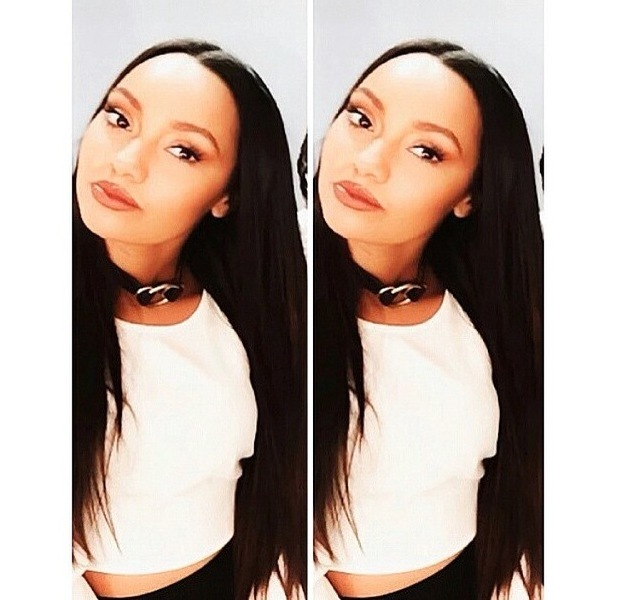 Little Mix's Leigh-Anne Pinnock shares picture of straight hair to Instagram 11th June 2015