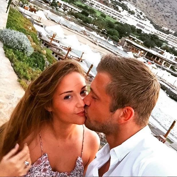 Dan Osborne shares loved-up selfie with girlfriend Jacqueline Jossa on holiday, 13 June 2015