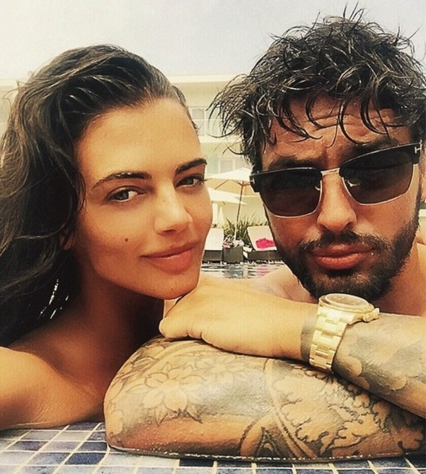 Mario Falcone and Emma McVey enjoy holiday in Portugal - 6 June 2015.