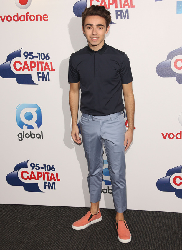 Nathan Sykes arrives at Capital FM Summertime Ball, 6th June 2015