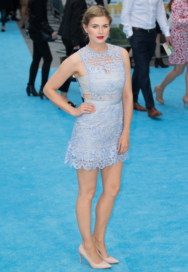 Ashley James at the European Premiere of