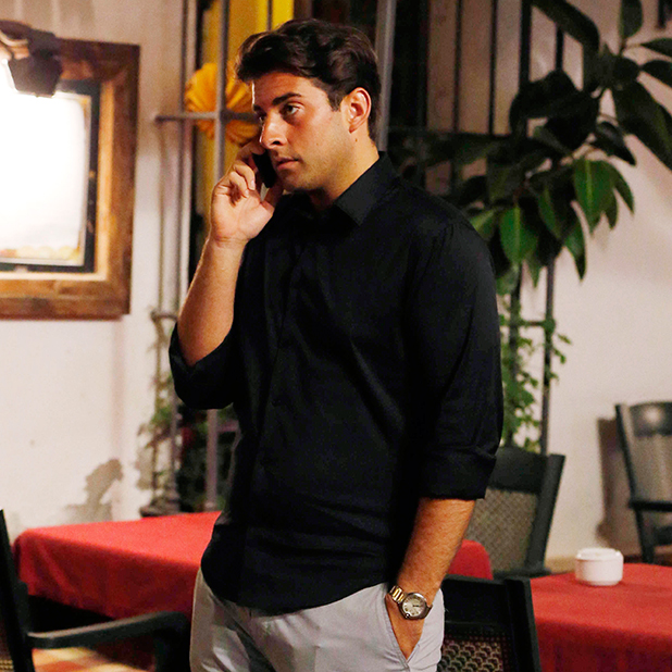'The Only Way Is Essex' cast in the old town, Marbella, Spain - 13 Jun 2014 James Argent