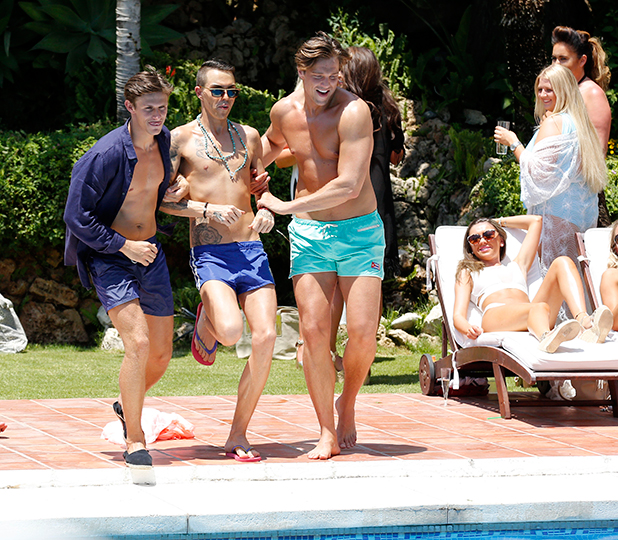The Only Way Is Essex' in Marbella, Spain - 01 Jun 2015 Bobby Cole Norris